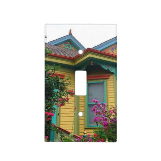 Colorful New Orleans House Light Switch Cover
