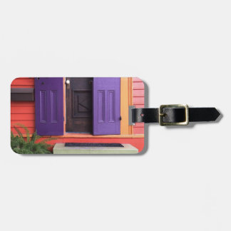 Colorful New Orleans Marigny House Luggage Tag