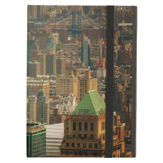 Colorful New York City Rooftops iPad Folio Case
