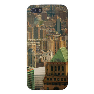Colorful New York City Rooftops iPhone SE/5/5s Cover