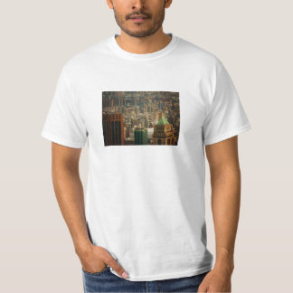 Colorful New York City Rooftops T-Shirt