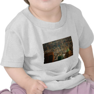Colorful New York City Rooftops Tshirts