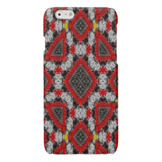 colorful nice modern trendy pattern glossy iPhone 6 case