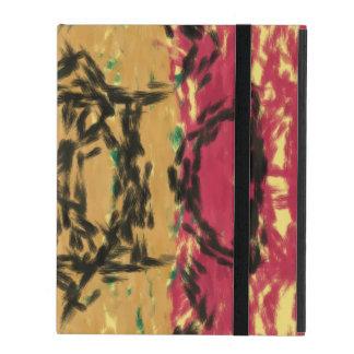 Colorful nice pattern iPad folio case