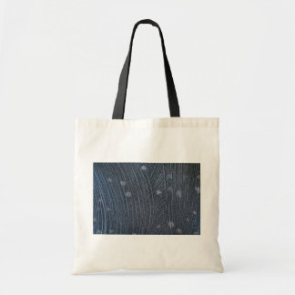 Colorful Night Snow Flurries Canvas Bags