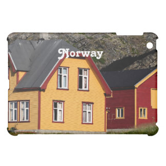 Colorful Norway Houses Cover For The iPad Mini