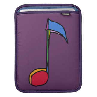colorful note musical sleeve for iPads