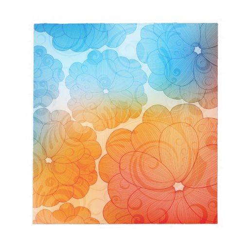 colorful notepad