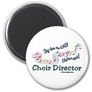 Colorful Notes 2 Inch Round Magnet