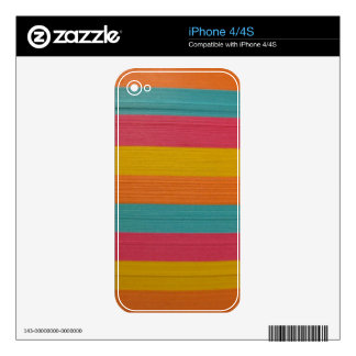 colorful notes office supplies post it texture skin for the iPhone 4S