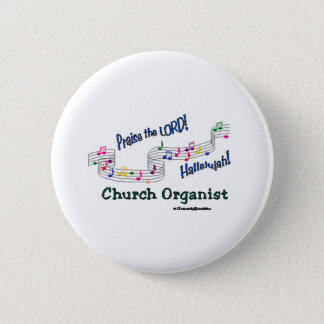 Colorful Notes Organist Button