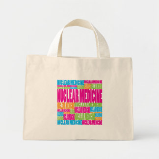 Colorful Nuclear Medicine Tote Bag