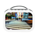 Colorful NYC Abstract Street Scene Lunchbox