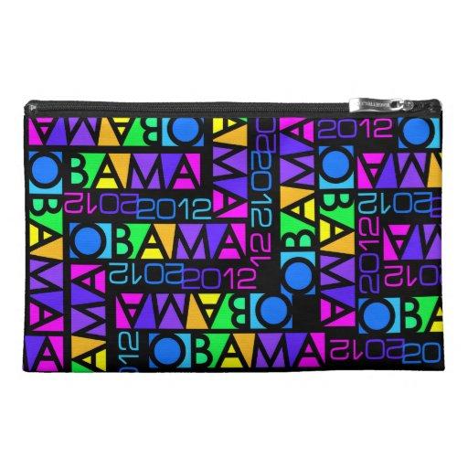 Colorful Obama 2012 accessory bag