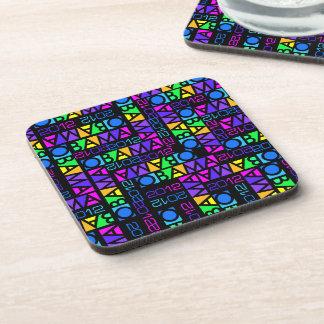Colorful OBAMA 2012 coasters