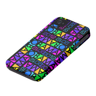 Colorful Obama 2012 iPhone 4 Case-Mate