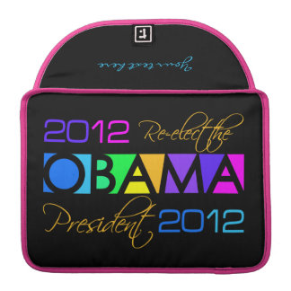 Colorful Obama 2012 MacBook sleeve