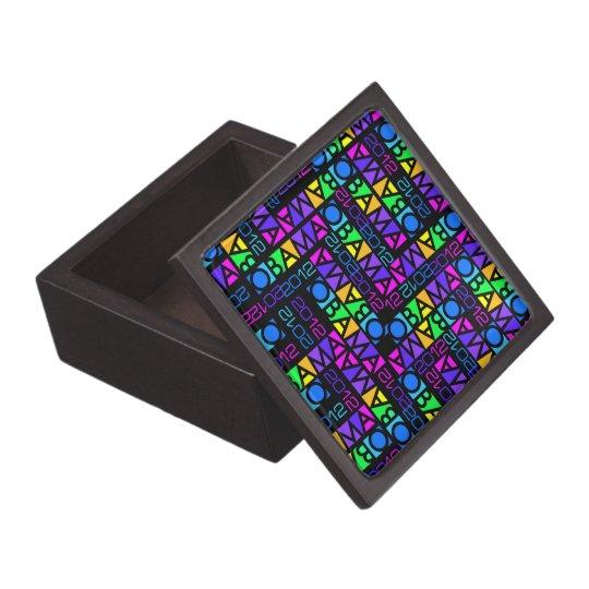 Colorful Obama 2012 premium gift / jewelry box