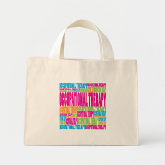 Colorful Occupational Therapy Mini Tote Bag