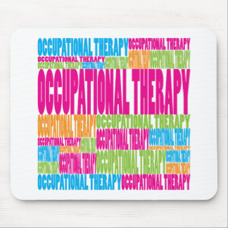 Colorful Occupational Therapy Mouse Pad