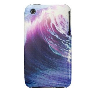 Colorful  Ocean Waves iPhone 3 Case