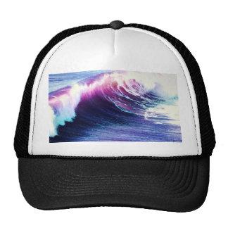Colorful  Ocean Waves Trucker Hat