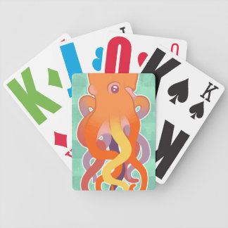 Colorful Octopus Card Deck