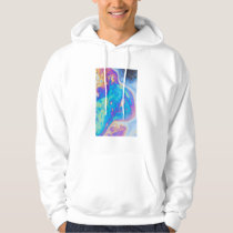 Colorful oil patterns, Canada Hoodie