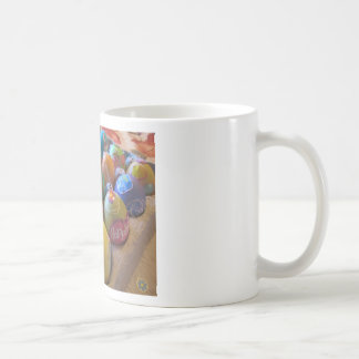 Colorful Old Fashioned Easter Egg Decorating Fun Coffee Mug