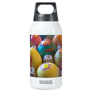 Colorful Old Fashioned Easter Egg Decorating Fun Thermos Bottle
