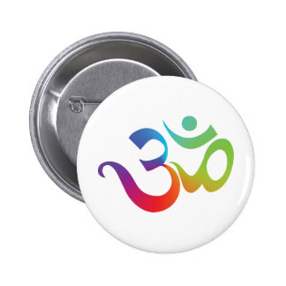 Colorful Om Button
