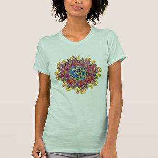 colorful om symbol mandala tank top