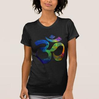 Colorful Om Yoga Symbols T-shirt