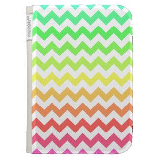 Colorful Ombre Chevron Kindle Cover
