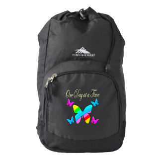 COLORFUL ONE DAY AT A TIME BACKPACK