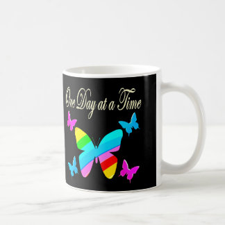 COLORFUL ONE DAY AT A TIME COFFEE MUG