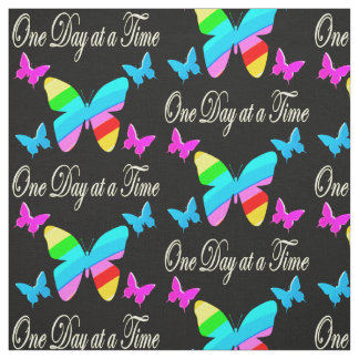 COLORFUL ONE DAY AT A TIME FABRIC