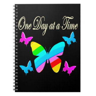 COLORFUL ONE DAY AT A TIME NOTEBOOK
