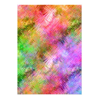 Colorful Opal Glassy Texture Cards
