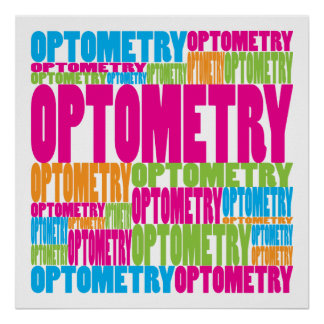Colorful Optometry Poster