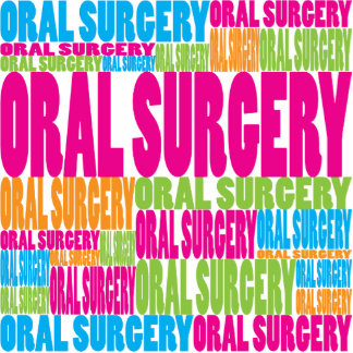 Colorful Oral Surgery Cut Out