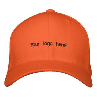 Colorful orange cap baseball cap