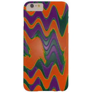 Colorful Orange Mod Abstract Barely There iPhone 6 Plus Case