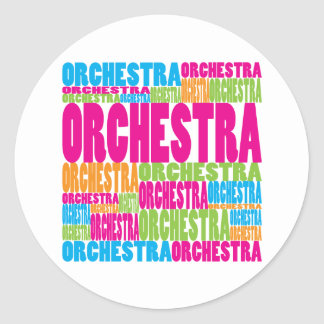 Colorful Orchestra Stickers