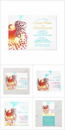 Colorful Orchid Wedding Collection
