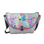 Colorful Orchids Courier Bag