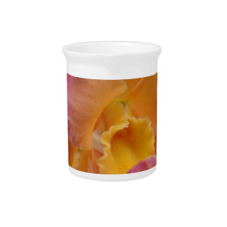 Colorful Orchids Drink Pitchers