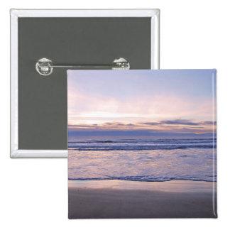 Colorful Oregon Coast Sunset Pinback Button