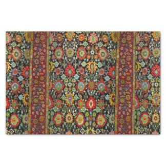 Colorful Oriental Rug design Tissue Paper