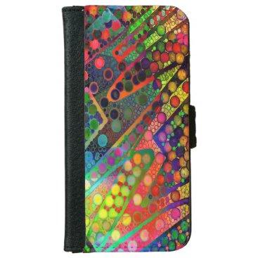 Colorful Original Design iPhone Wallet Case